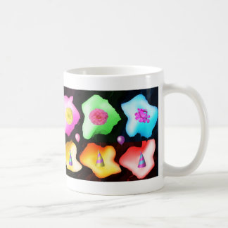 Celebrations: Floral Colorful Icebergs Coffee Mugs