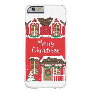 Celebrations Street - Christmas Barely There iPhone 6 Case