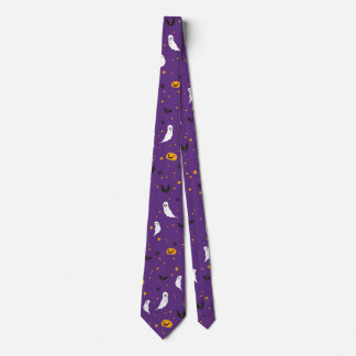Celebrations Street - Halloween (purple) Tie