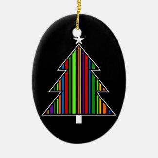 Celebratory tree8 ceramic ornament