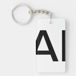 celebrities Single-Sided rectangular acrylic key ring