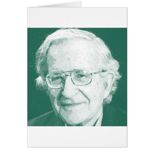 celebrities  noam chomsky 2 card