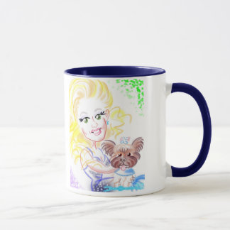 Celebrity Catwalk Caricatures Mug 2017a
