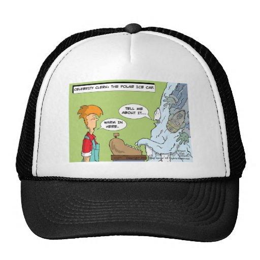 Celebrity Clerk: Polar Ice Cap Trucker Hats