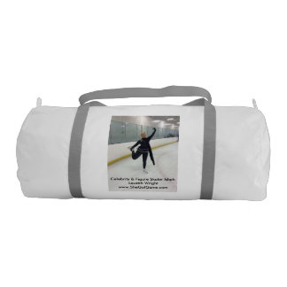 Celebrity & Figure Skater Ishah Laurah Wright Gym Duffel Bag
