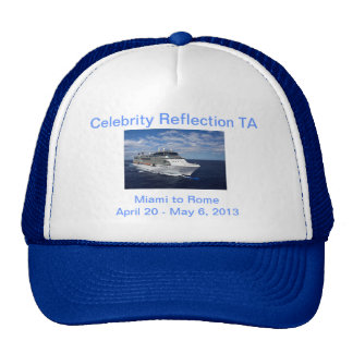 Celebrity Reflection Hat in Blue
