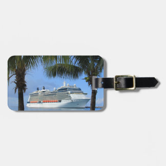 Celebrity Silhouette Cruise to Paradise Luggage Tag