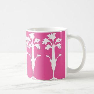 Celery Charles Logo 11 oz Classic Fuchsia Mug. Coffee Mug