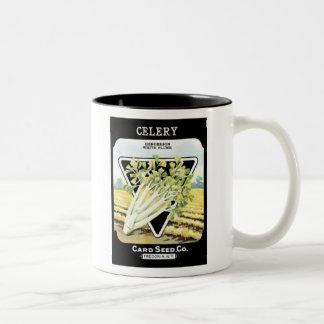 Celery Henderson White Plume Card Seed Co Mug