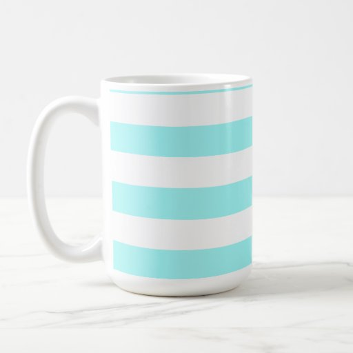 Celeste Horizontal Stripes; Striped Mugs