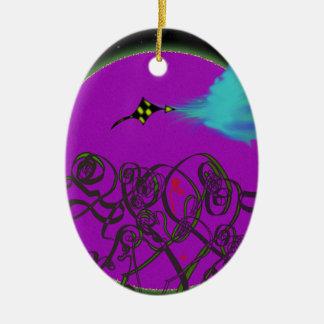 Celestial Battle Ceramic Ornament