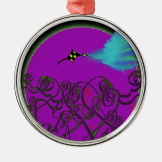 Celestial Battle Metal Ornament