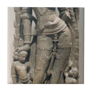 Celestial Beauty (Surasundari) Ceramic Tile