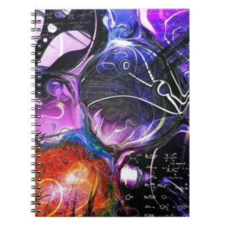 Celestial Bodies Spiral Notebook