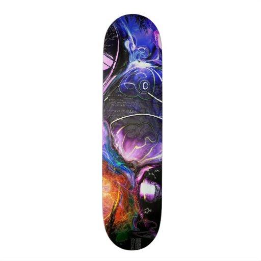 Celestial Bodies Skateboard Deck
