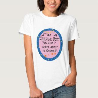 Celestial body shirt