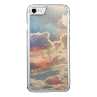Celestial Clouds Carved iPhone 7 Case