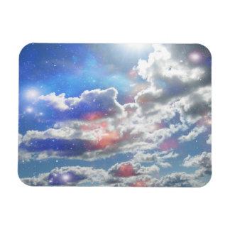 Celestial Clouds Premium Magnet