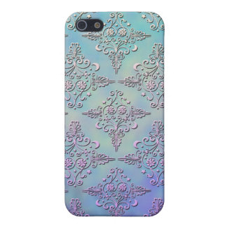 Celestial Damask Style Pattern iPhone 5 Cover