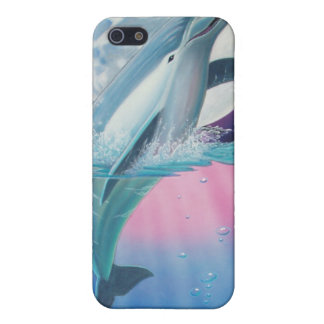 Celestial Dolphin Moon Case For iPhone 5/5S