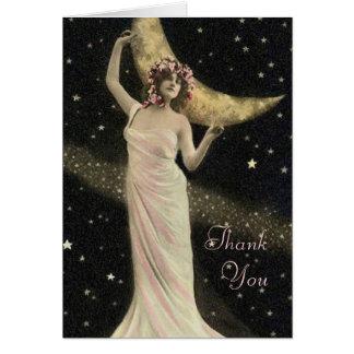Celestial Drama Queen Thank You Card