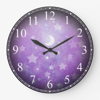Celestial Dream Stars and Moon Clock