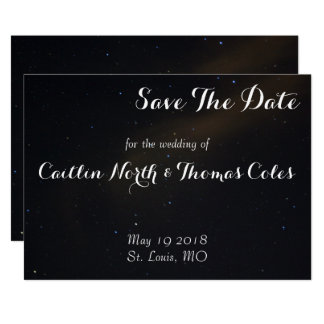 Celestial Dreams Save the Date Card