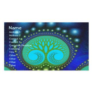 Celestial Forest Fine Fractal Art Pack Of Standard Business Cards