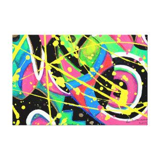 celestial glow canvas print
