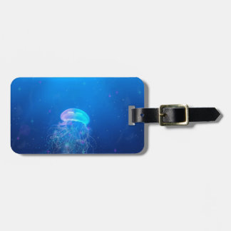 Celestial Jellyfish Luggage Tag
