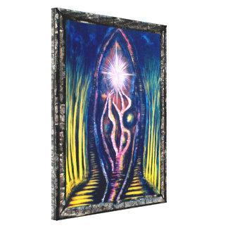 Celestial Light Gallery Wrap Canvas
