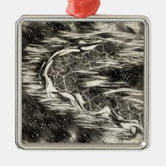 Celestial Man Metal Ornament