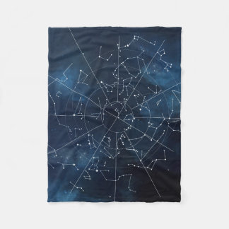 Celestial Map Fleece Blanket