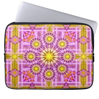 Celestial Matrix Mandala Laptop Computer Sleeves