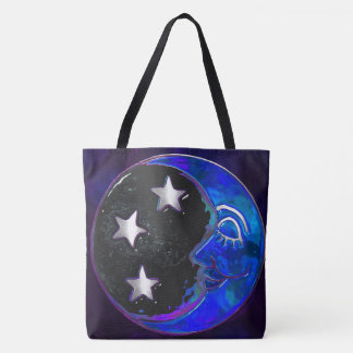 Celestial Momments Bohemian Tote Bag