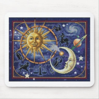 celestial mouse pad