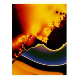 Celestial organics postcard