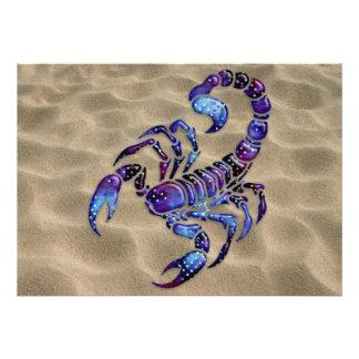 Celestial Scorpion Custom Invite
