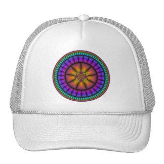 Celestial Sphere Mosaic Trucker Hat