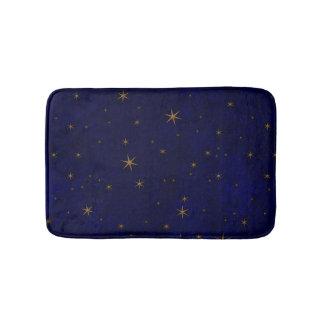 Celestial Starry Night Bath Mat