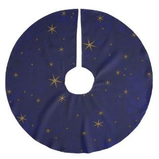 Celestial Starry Night Brushed Polyester Tree Skirt