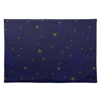 Celestial Starry Night Cotton Placemat