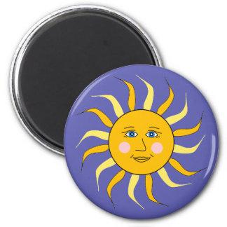 Celestial Sun Art Magnet