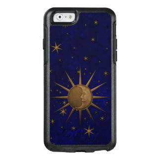 Celestial Sun Moon Brass Bas Relief Graphic OtterBox iPhone 6/6s Case