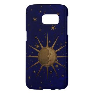 Celestial Sun Moon Starry Night