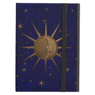 Celestial Sun Moon Starry Night Cover For iPad Air