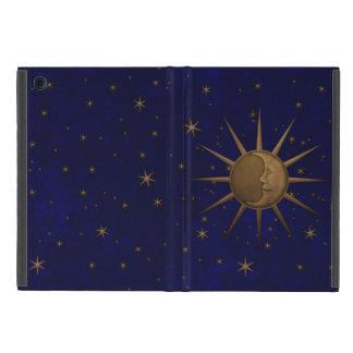 Celestial Sun Moon Starry Night Cover For iPad Mini