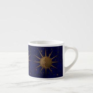 Celestial Sun Moon Starry Night Espresso Cup