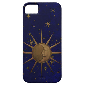Celestial Sun Moon Starry Night iPhone 5 Case