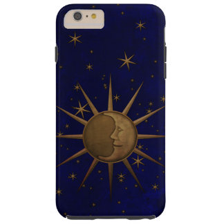 Celestial Sun Moon Starry Night Tough iPhone 6 Plus Case